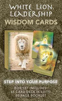 White Lion Leadership Wisdom Cards